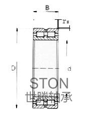 双列满装圆柱滚子轴承NNC(SL01)