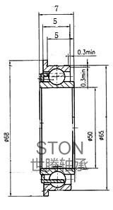 橡塑制品钢丝编织机专用轴承